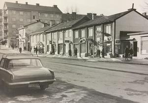 Stora gatan år 1966.