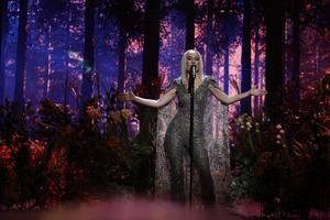Anna Bergendahl sjöng