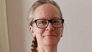 Kirsten Lysgaard är första och enda namn på SD:s kommunlista i Hallstahammar.