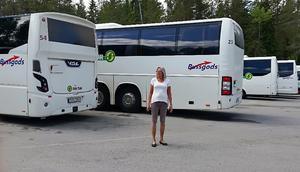 Tove-Klingsby Svedin har tidigare jobbat som busschaufför och varit fackrepresentant.Foto: Privat