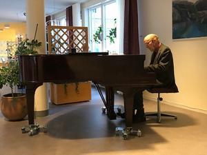 Christer Jonsson spelade flera gånger i månaden på Patricia. Foto: Privat