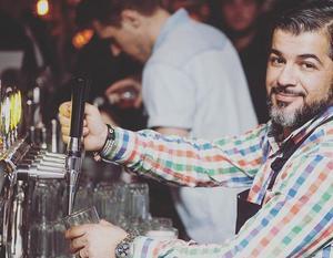 Rafi Bahar, hovmästare, Brasserie Stadsparken. Bild: Brasseriets Instagramsida