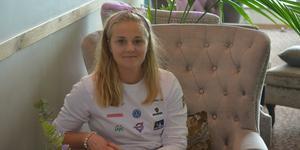 Trots att hon är utflyttad sen många år har Stina Nilsson fortfarande sitt paradis i Malung.