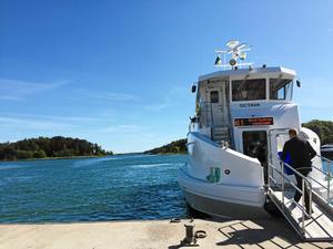 När jag besöker Stockholm passar jag på att ta transport via alla turbåtar som går mellan stadsdelarna i city, skriver signaturen JB. Foto: Morgan Berglund-Williams/Arkiv