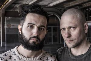 Soran Ismail och Magnus Betnér.