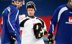 När intervjun med Anders Svensson publiceras har landslaget gjort första träningen i Chabarovsk tidigare under dagen. Foto: Rikard Bäckman / Bandypuls.se / TT