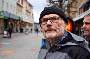 Som nyinflyttad i Nässjö vill Jan Månsson lära mer om staden.