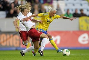 Josefine Öqvist är laddad inför årets VM. Foto: Björn Lindgren / SCANPIX