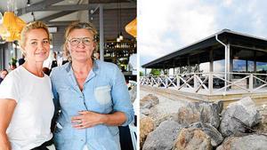 En liten sjökrog i Sörfjärden drivs av Sundsvallskrögarna Annika Höglund Svensson och Agneta Hedman. Arkivbilder: Mats Olsson