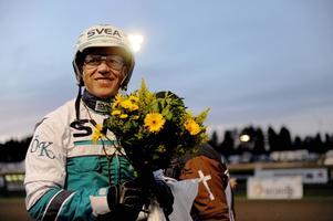 Örjan Kihlström vann fyra lopp när han gästspelade