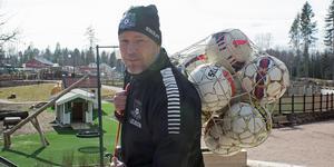 Tony Elvingsson, tränare i Gäddeholms FF.