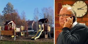 Sten-Ove Danielsson (S) berättar om koncernledningens förslag om lokalrockader i Ånge som en enig kommunstyrelse anser att Åfa nu ska få i uppdrag att börja projektera för.