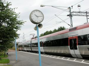 Tågen i Dalarna har i genomsnitt större förseningar än i resten av landet. Foto: Maria Åkerblom