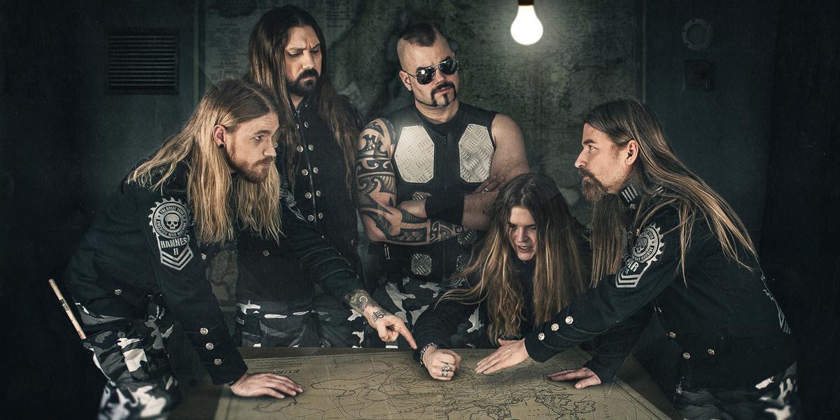Sabatons turné växer – kända hårdrocksbandet spelar i Skövde