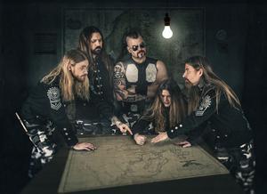 Sabaton ger sig ut på Sverigeturné och ett av stoppen blir Skövde efter att nya turnédatum lagts till. Foto: Pressbild