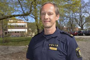Anders Larsson vid polisen i Sundsvall