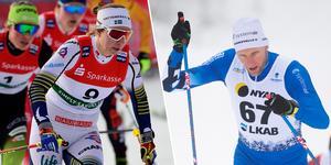 Evelina Settlin och Daniel Richardsson kör världscupen i helgen.
