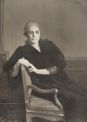 Konstnären Julius Kronberg porträtterade grevinnan von Hallwyl. Pressbild: Jenny Bergsten
