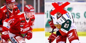 Mora saknar backen Tomas Skogs under lördagskvällen. Timrå IK kommer till spel med exakt samma lag som senast.