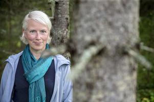 Kerstin Dafnäs är ordförande för Spillkråkan - en intresseförening förkvinnliga skogsföretagare.