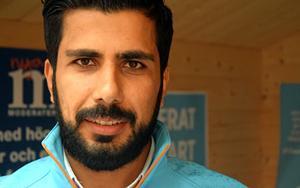 Fesal Alyas (M) tar plats i nya kommunfullmäktige.