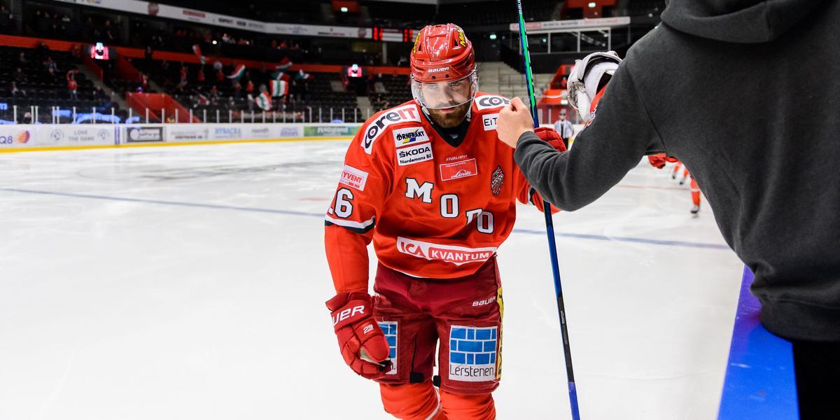 JUST NU: Modos NHL-lån spelar inte mot Västervik