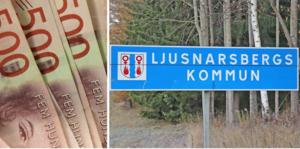 Ljusnarsbergs kommun fick ett överskott 2019.  Nu kan kommunen investera utan att låna pengar, skriver Ewa-Leena Johansson (S).