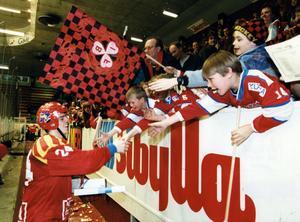 Populär bland fansen, Ove Molin. Bild: Kurt Elfström.