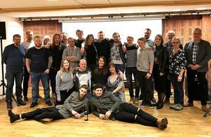 I går var det examensdags för den första kullen som genomgått Arbetsförmedlingen och Protrains lokförarutbildning i Ånge. Foto: Protrain