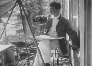 Alf Munthe 1917. Foto: Hans Wilhelmsson Ahlmann