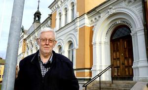 – Vi går ut hårt och kaxigt och säger att naturligtvis ska ett polismuseum ligga i gamla tingshuset. Vad och hur det sedan blir av är en annan sak, säger Lasse Nilsson.