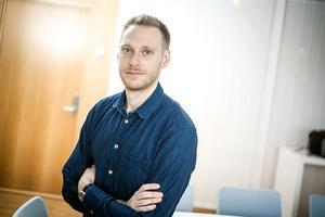 Johan Larsson, överläkare på Rättsmedicinalverkets rättspsykiatriska enhet i Stockholm. Foto: Edis Potori
