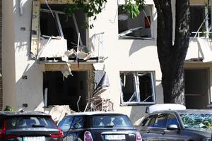 Lördagen den 8 juni skakades Linköping av en explosion som orsakade stora skador på byggnader i centrum. /FOTO: Jeppe Gustafsson/TT