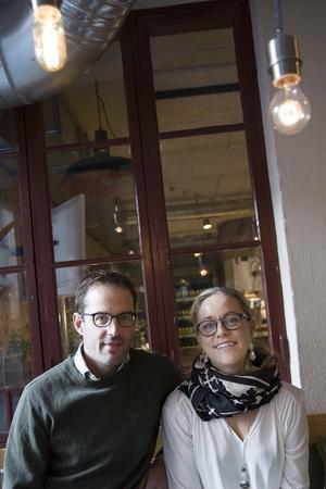 Längtan efter hus och natur gjorde att Staffan Kjellberg och Mari Nilsson valde att lämna Stockholm och flytta till Östersund.