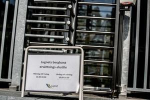 Bergbanan gjorde sin jungfrufärd 2014. Fyra år senare stannade den och ansågs inte vara driftsäker.