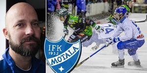 Mattias Sjöholm kan snart använda Viktor Spångberg igen, som har varit borta med hjärnskakning sedan i december. Foto: Andreas Tagg / Adam Ishe (TT)