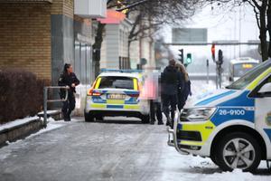 Den misstänkte mördaren i 80-årsåldern kunde gripas på Staketgatan. Bild: Roger Nilsson
