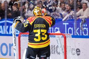 Patrick Roy var Erssons idol. Därför har han 33. Bild: Daniel Eriksson / BILDBYRÅN