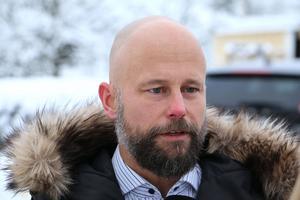 Mattias Looström, vd för Laxå kommunfastigheter och Laxåhem kan inte svara på vad som händer med Ramundergården.Foto: Peter Eriksson/Arkiv