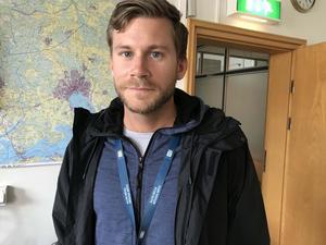 Västerås stads säkerhetschef vid evenemang, Christopher Forsberg.