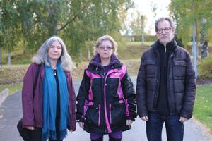 Sanna Quigley, Mari Norén, Kalle Lindberg, personliga assistenter Sollefteå kommun.