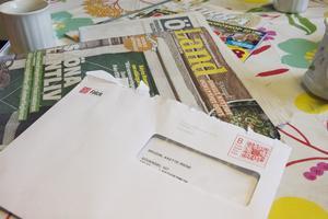 Postutdelningen är en viktig service för makarna Brodin.