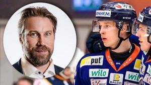 Peter Forsbergs bästa juniorsäsong kan slås av Elias Pettersson. Foto: Jonas Ljungdahl/Simon Hastegård (Bildbyrån).