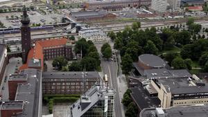 Västerås från ovan - en kombination av skönhetsfläckar och vackra detaljer?