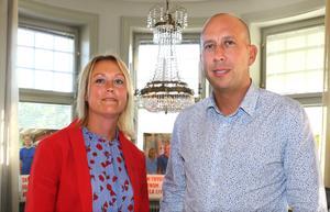 Veronica Wallgren och Magnus Andersson går in i valrörelsen med ett valprogram som innehåller åtta konkreta vallöften.