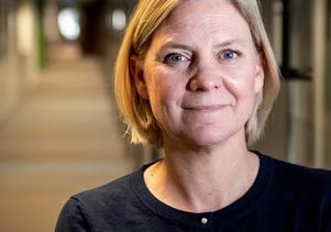 Finansminister Magdalena Andersson (S) har en del att tänka över. Foto: Christine Olsson