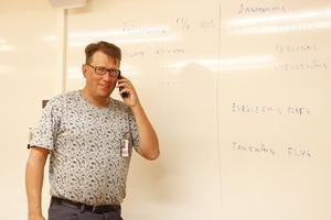 Anders Häggkvist, kommunstyrelsens ordförande Härjedalens kommun, förbereder sig för ett extra ordinärt läge i kommunen där samordning och krisberedskap står högst på agendan.