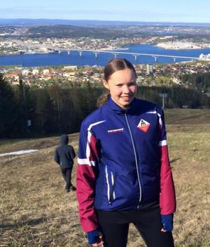 Emma Blixt knep femteplatsen bland 45 startande i Sundsvall.