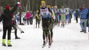 Erik Wickström, Ulricehamn, vann Engelbrektsloppet förra året. Nu talar allt för att snön räcker för att genomföra årets tävling.