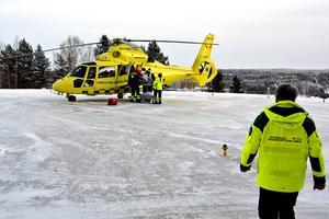 Ambulanshelikoptrar kommer att vara en viktig del i den nya norrländska regionens sjukvård.